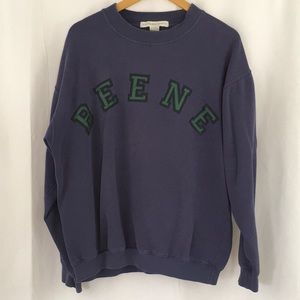 Vintage Geoffrey Beene Spell Out Crewneck Sweater